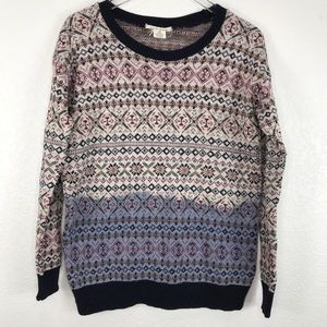 Coincidence Chance Anthropologie Pullover Sweater